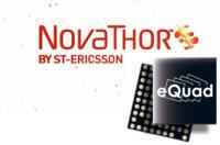 ST-Ericsson NovaThor L8580, con procesador de cuatro núcleos que se pone a 3GHz