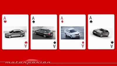 Póquer de sedanes: PSA y VAG ya han mostrado sus cartas