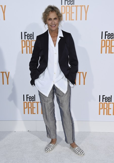 i feel pretty red carpet Lauren Hutton
