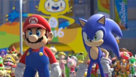 Así luce el opening de Mario and Sonic at the Rio 2016 Olympic Games