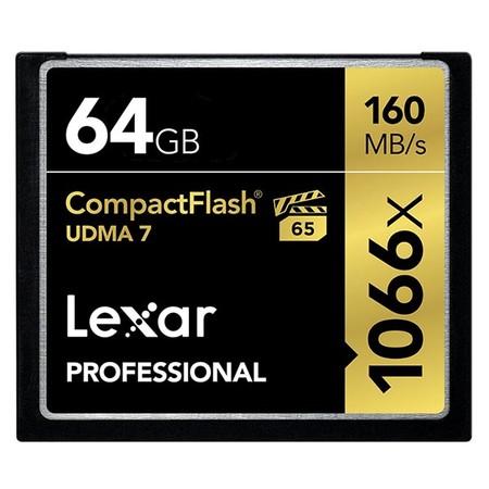 Compact Flash Lexar 64 2