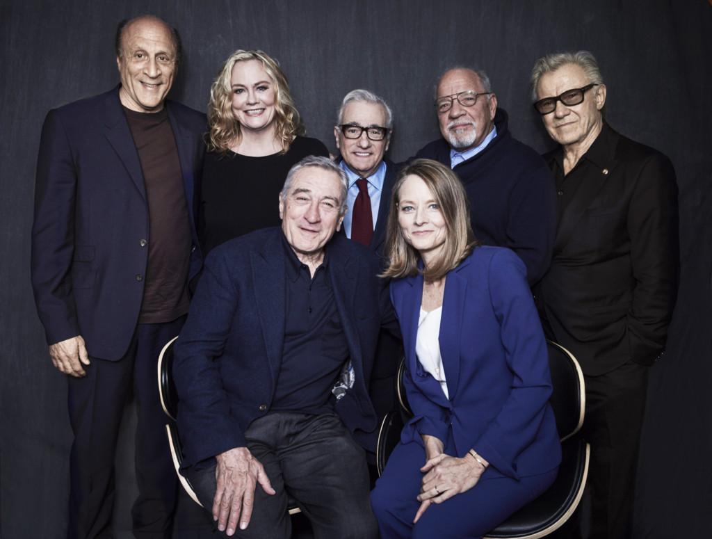 Michael Phillips, Cybill Shepherd, Robert De Niro, Martin Scorsese, Jodie Foster, Paul Schrader y Harvey Keitel