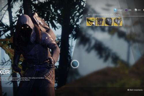 Destiny 2: ubicación de Xur y equipamiento (del 6 al 10 de octubre)