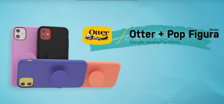 OtterBox lanza nuevas fundas para los iPhone 11 con PopSockets integrados que se venden en las Apple Store