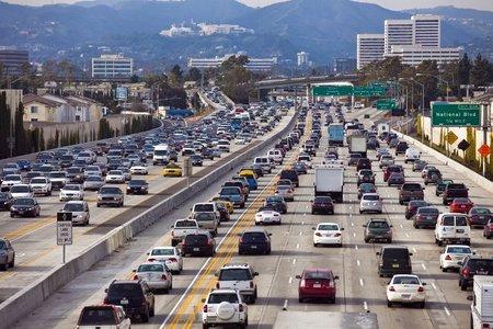 Los Angeles tráfico