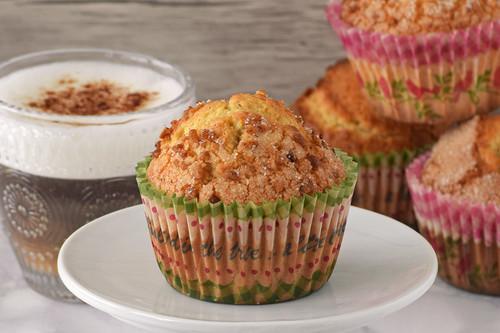 Magdalenas de canela con avellana y harina de maíz: receta para dar un toque rústico a tu desayuno