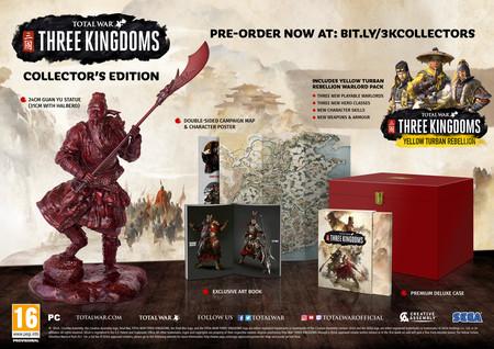 Total War Three Kingdoms Edicion Coleccionista