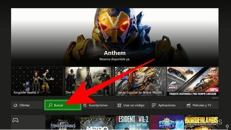 Pulsa En Buscar Xbox