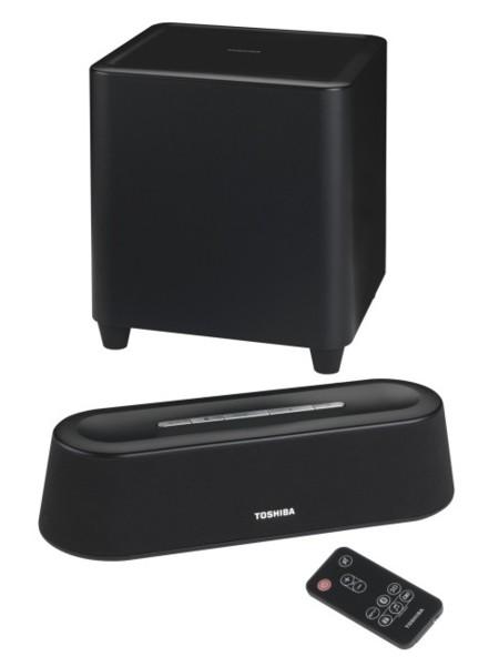 Toshiba SBM1W, una barra de sonido para llevar de un lado a otro