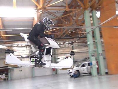 No es ciencia ficción, es la Scorpion Hoverbike: voladora, eléctrica y totalmente funcional