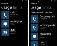 Nokia Contadores se actualiza ahora con un live tile