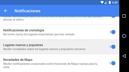 Maps Lugares Nuevos