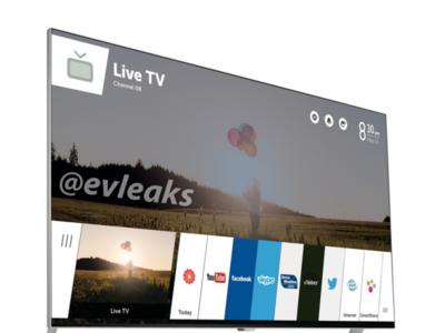 Así será webOS en un televisor, según @evleaks