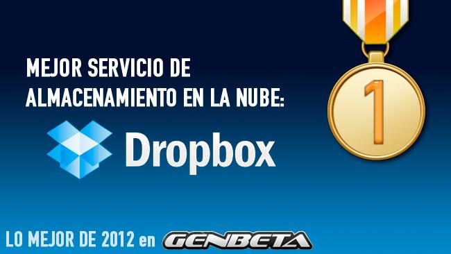 Lo mejor de 2012 en Genbeta: mejor servicio de almacenamiento en la nube