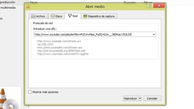 Cómo reproducir listas de YouTube en VLC media player