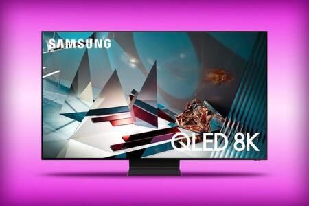 Smart TV Samsung QLED 8K a precio de infarto en Amazon México: una de las pantallas 8K más baratas que puedes comprar ahora mismo