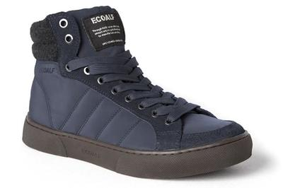 Descontaminar el planeta con estilo: Everest Hight Top Sneakers de Ecoalf