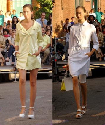 Antonio Miró, coleccion mujer primavera verano 2008