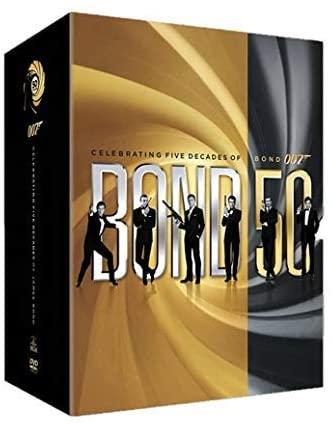50 Aniversario Bond boxset en Blu_ray