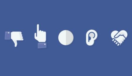 """5 diseños para el botón de """"no me gusta"""" de Facebook. La imagen de la semana"""