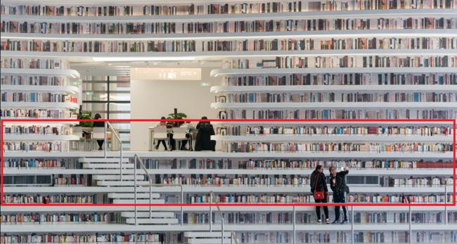 Internet ha vuelto a engañarnos: la hermosísima biblioteca china viral está llena de libros pintados