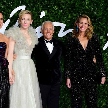 Así de impresionante ha sido la alfombra roja de lujo de los British Fashion Awards 2019