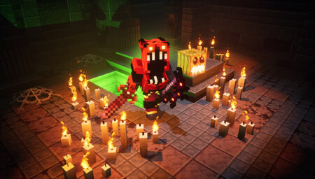 Minecraft Dungeons Halloween Hero Screenshot