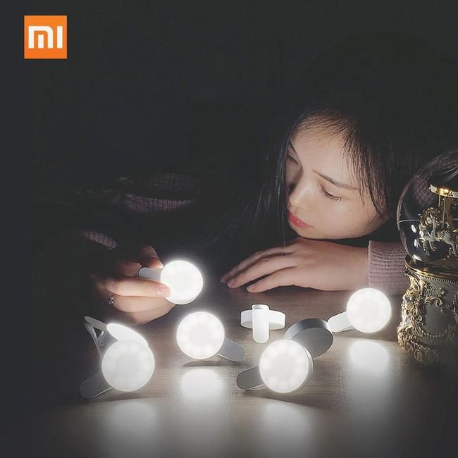 Oferta Flash: LED portátil con carga USB Xiaomi Yuemi LED Selfie Light por sólo 6,93 euros y envío gratis
