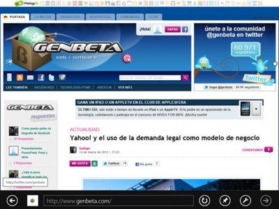 Internet Explorer 10 Consumer Preview, a fondo (parte 1)