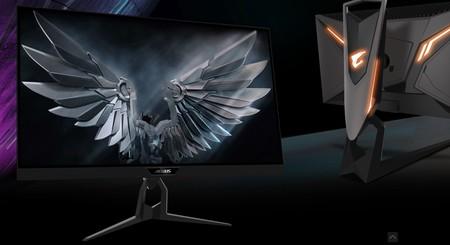 Gigabyte anuncia la compatibilidad con Nvidia G-Sync de sus monitores gaming Aorus FI27Q y FI27Q-P