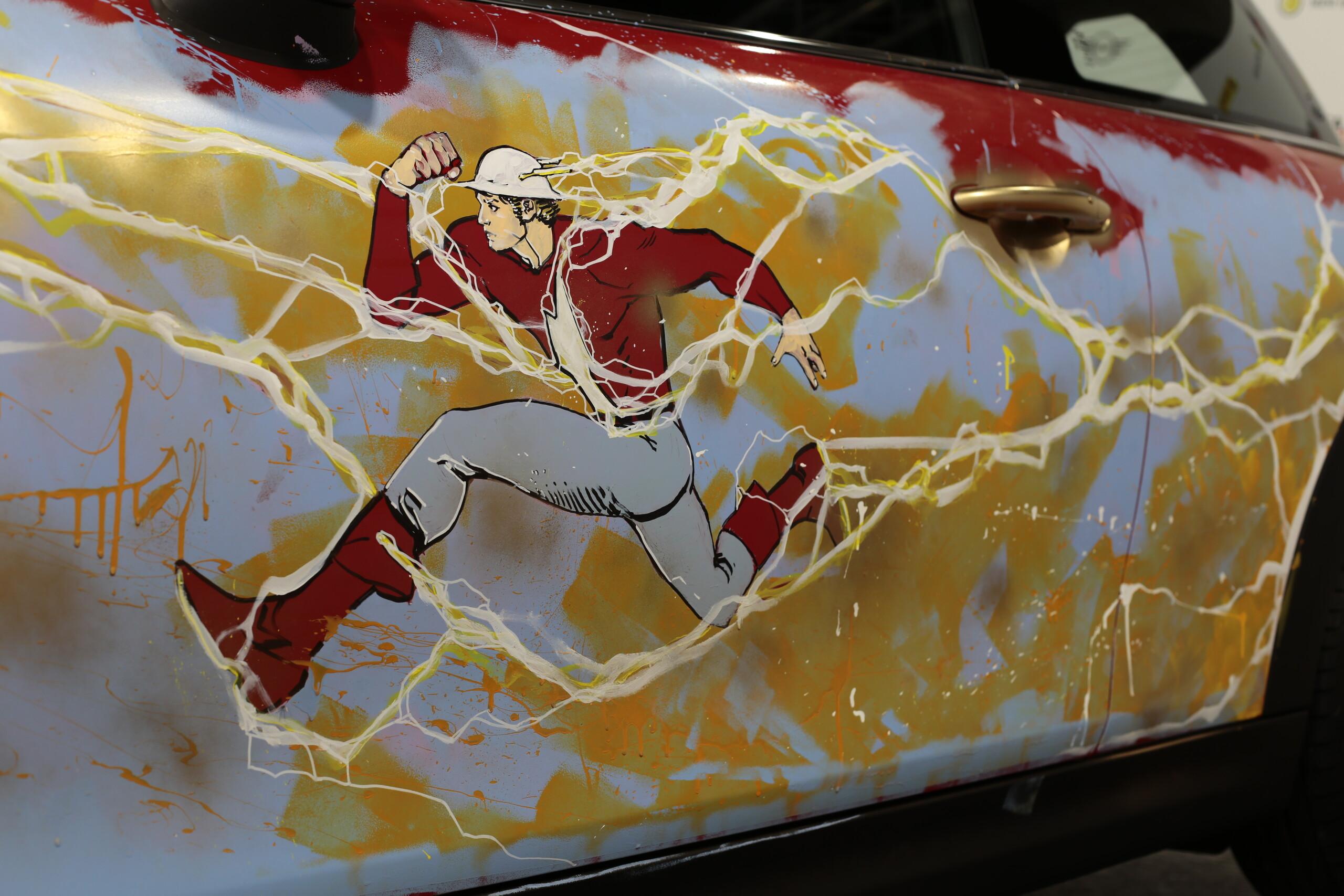 Foto de MINI Electric tributo a Flash (6/9)