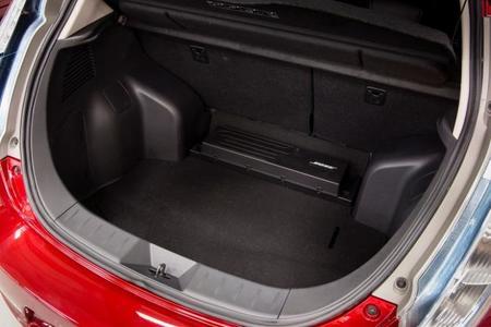 Nissan Leaf 2013 maletero