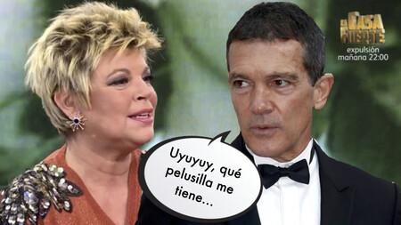 """Terelu, muy crítica con la actitud de Antonio Banderas hacia María Teresa Campos: """"no fue cercano con mi madre"""""""