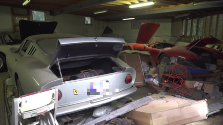 Ferrari 275 GTB/2 barn find