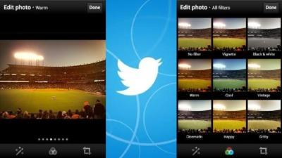 Ya están disponibles los filtros en la aplicación móvil de Twitter