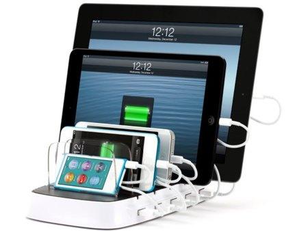Griffin PowerDock 5 carga hasta cinco gadgets a la vez