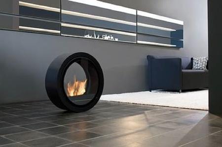 Roll Fire, una bonita chimenea de diseño