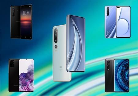 Comparativa Xiaomi Mi 10 Pro: lo enfrentamos al Samsung Galaxy S20+, Huawei P40 Pro, OPPO Find X2 Pro y los mejores gama alta del mercado