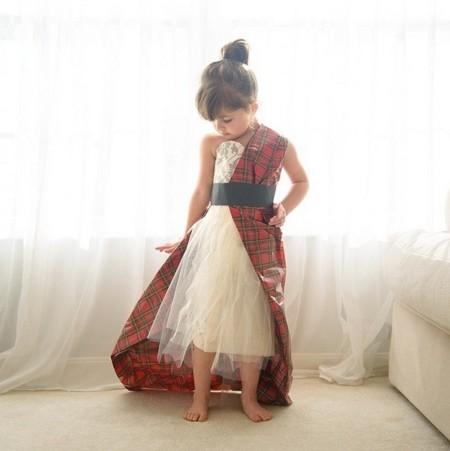Con 4 años y en Vogue imitando los mejores looks de las famosas del MET
