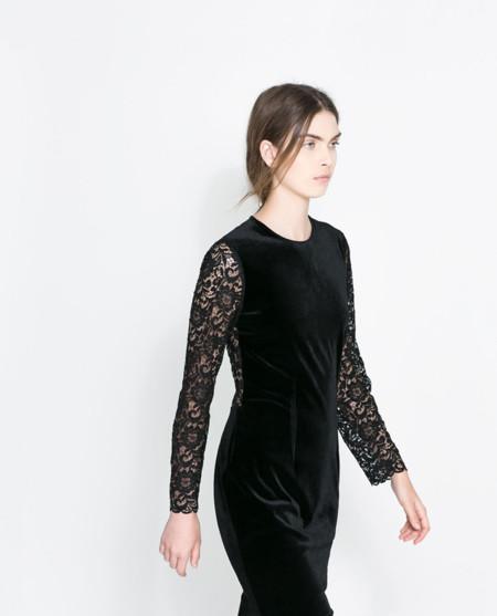 8 vestidos de fiesta cortos de tercipelo, no dudes ni un momento porque están de moda