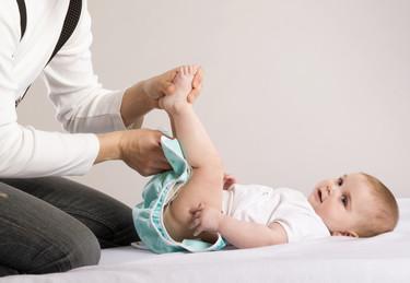 La orina del bebé: cuándo es normal y cuándo no