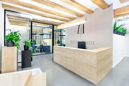 Espacios para trabajar: las oficinas de Zapata Herrera en Valencia