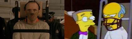Homenajes cinéfilos en Los Simpson