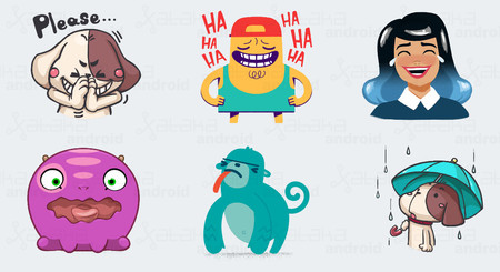 whatsapp android stickers