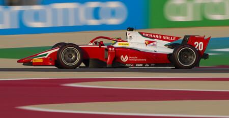 Schumacher Sakhir F2 2020
