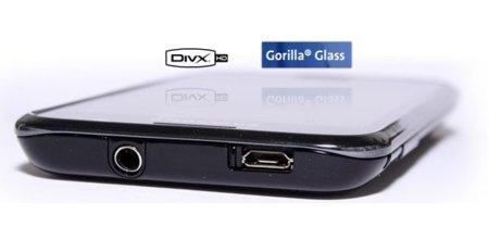 Samsung Galaxy S suma la certificación DivX HD y Gorilla Glass a sus virtudes