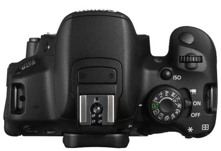 Canon 700D desde arriba