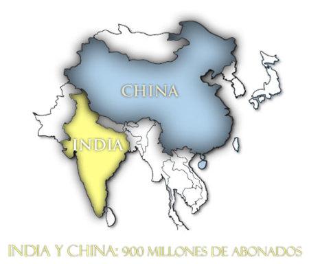 Asia lidera el mercado móvil mundial