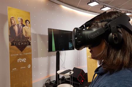 Siete minutos para escapar en la realidad virtual de 'El Ministerio del Tiempo'