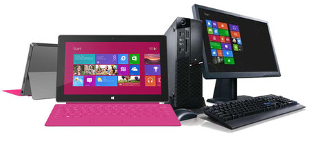 Comparativa Windows 8 vs Windows RT: ¿cuál es para mí?